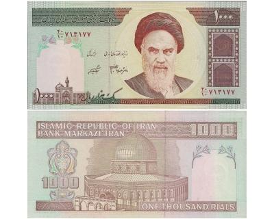 1000 риалов (1992 г.) Иран