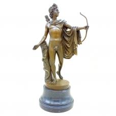 Бронзовая статуэтка Аполлон Бельведерский. Европа