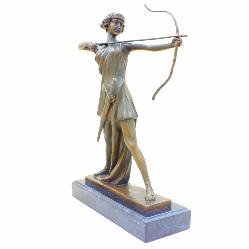 Бронзовая статуэтка Артемида. Европа.