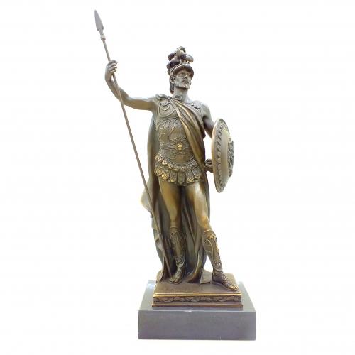 Бронзовая статуэтка Александр Македонский. Европа