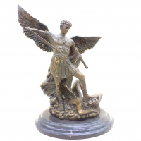 Бронзовая статуэтка Архангел Михаил. Европа