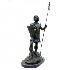 Бронзовая статуэтка Кельтский воин. Европа
