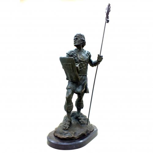 Бронзовая статуэтка Кельтский воин. Европа.