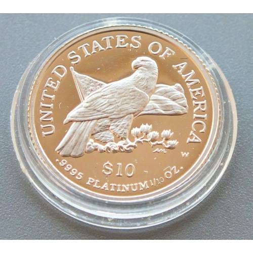 10 долларов США 2003 год Платина