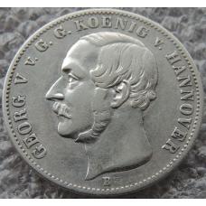 1 Талер 1855 г