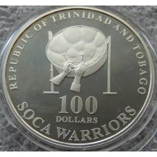 100 Долларов 2006 Тринидад и Тобаго ЧМ по Футболу в Германии