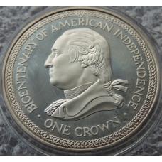 1 Крона 1976 г Остров Мэн