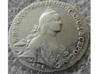 Полтина 1764 г СПБ ТI СА