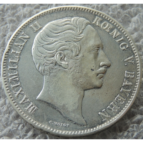 2 Талера 1852 г Германия Бавария