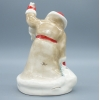 Фарфоровая статуэтка Дед Мороз