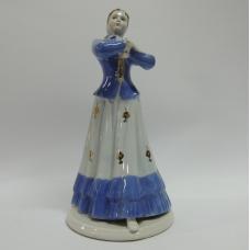 Фарфоровая статуэтка Девушка Плясунья Локотки Барановка 60 год