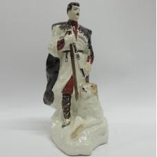 Фарфоровая статуэтка Композиция Чабан Пастух С Собакой Ереванский Фарфоровый Завод