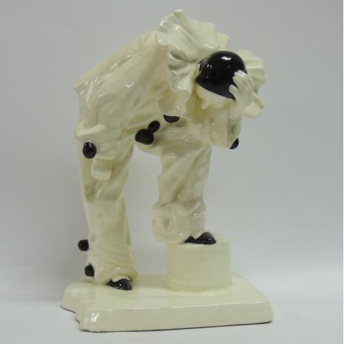 Фарфоровая статуэтка Скульптура Пьеро Чехия 1920 год