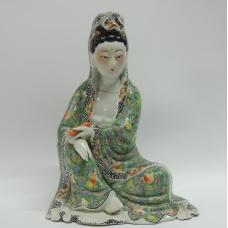 Фарфоровая статуэтка Скульптура Будда Божество Китай