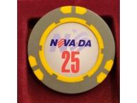 Фишка казино Невада Конти Номинал 25 Санкт-Петербург Россия