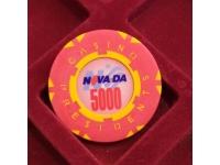 Фишка казино Невада Конти Номинал 5000 Санкт-Петербург Россия