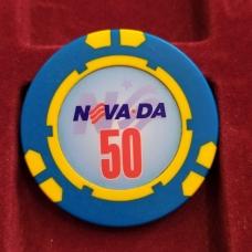 Фишка казино Невада Конти Номинал 50 Санкт-Петербург Россия