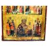 Многочастная икона Всех Скорбящих Радость, Боголюбская икона Божией Матери и Озерянская икона Божией Матери