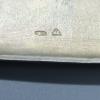 Портсигар с вензелями. Серебро. Россия