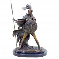 Бронзовая статуэтка Афина - богиня мудрости. Европа
