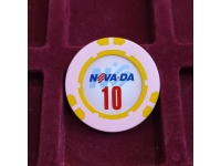 Фишка казино Невада Конти Номинал 10 Санкт-Петербург Россия